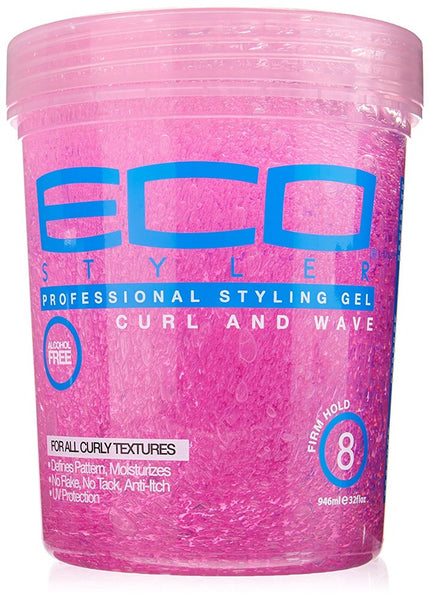 Eco Styler Curl & Wave Styling Gel Pink, 5 lbs