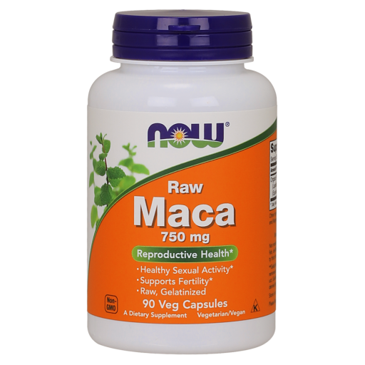 Now Foods MACA 750 MG (6:1 CONC) 90 VCAPS, 90vcaps