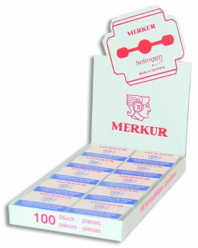 Merkur Corn Planer Blades Display (Model: PS7001)