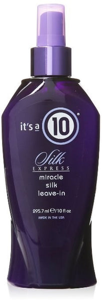 It's a 10 Silk Express Miracle Silk Leave-In Formula, 10 Ounce