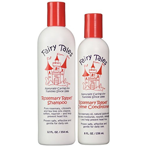 Fairy Tales Rosemary Repel Shampoo 12 oz. + Repel Creme Conditioner 8 oz. - BEAUTY IT IS