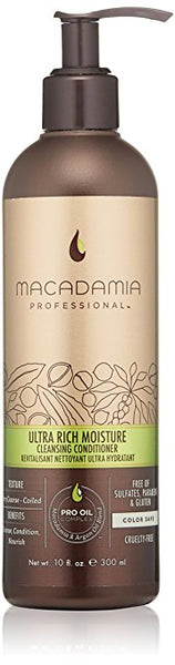 Macadamia Ultra Rich Moisture Cleansing Conditioner, 10 oz