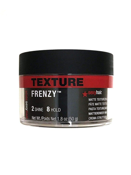 Frenzy Matte Texturizing Paste 1.8 Oz by SAxy Heir Pack of 2