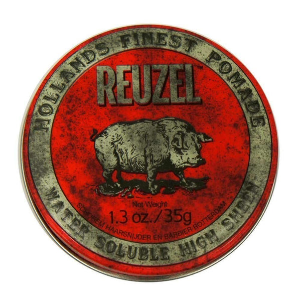 Reuzel Red Pomade - Water Soulable 1.3 oz