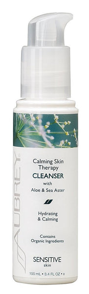 Aubrey Organics Calming Skin Therapy Cleanser 3.4 oz