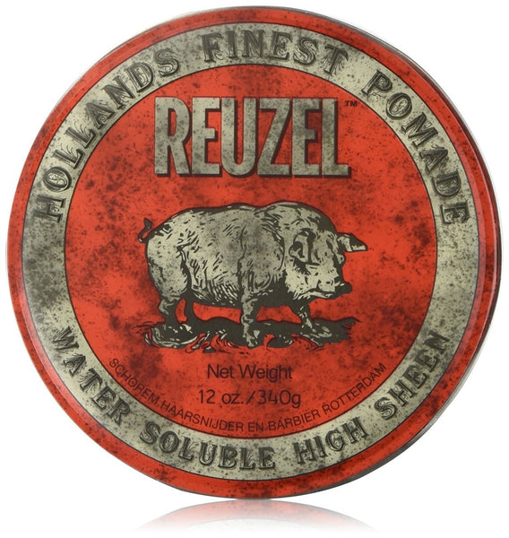 Reuzel Red Pomade - Water Soulable 12 oz