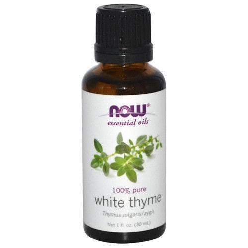 NOW Foods THYME OIL WHITE  1 OZ