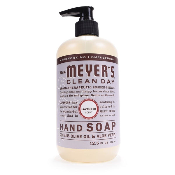 Mrs. Meyer's Clean Day Hand Soap, Lavender, 12.5 Oz.