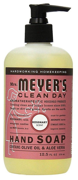 Mrs. Meyer's Clean Day Hand Soap, Rosemary, 12.5 Oz.