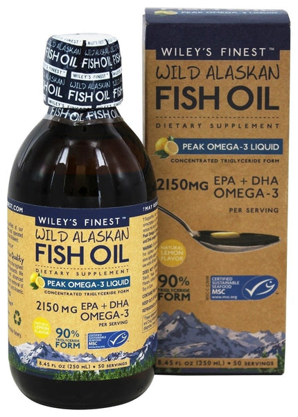 Wiley's Finest Peak Omega-3 Liquid 50 servings