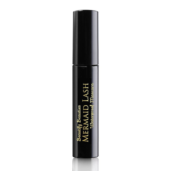 Beautify Beauties Black Luxury Waterproof Mascara - Lengthening, Hypoallergenic, Volumizing, Non Clumping, Gluten Free & Paraben Free