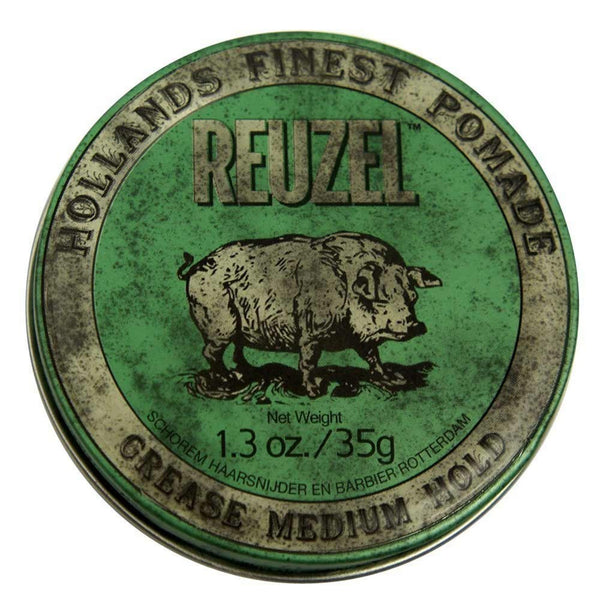 Reuzel Green Pomade - Grease 1.3 oz