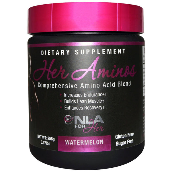 NLA for Her, Her Aminos, Comprehensive Amino Acid Blend, Watermelon, 30 servings