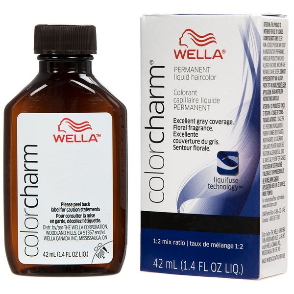 Wella Charm Liquid Permanent Hair Color, 542/6aa Dark Blonde Intense Ash