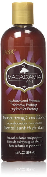 HASK Macadamia Moisturizing Conditioner 12 oz