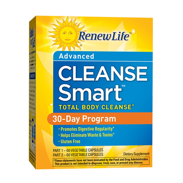 Renew Life Cleanse Smart (2-part kit), 2 Piece Kit