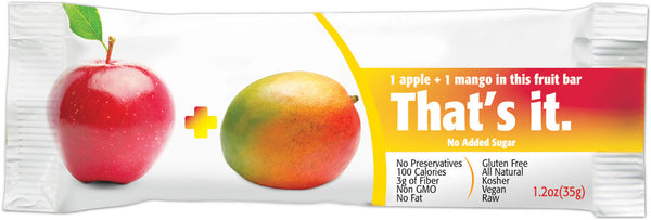 That's It Fruit Bars: Apple + Mango, 1.2 oz