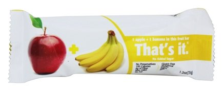 That's It Fruit Bars: Apple + Banana, 1.2 oz