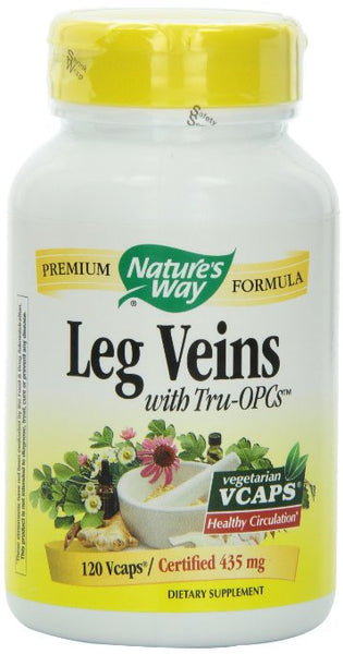 Nature's Way Leg Veins, 120 Vcaps - BEAUTY IT IS