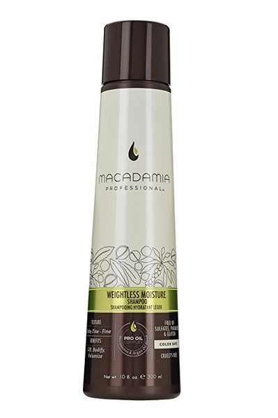 Macadamia Weightless Moisture Shampoo, 10 oz