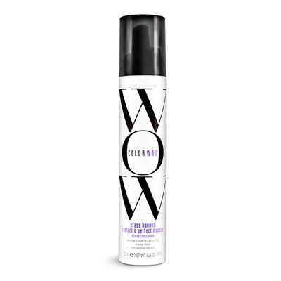 Color Wow Brass Banned Mousse for Light Hair, 6.8 oz