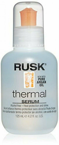 Rusk Thermal Serum With Argan Oil 4.2 Ounce