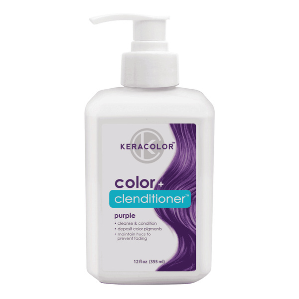 Keracolor Color Plus Clenditioner Purple 12 Ounce
