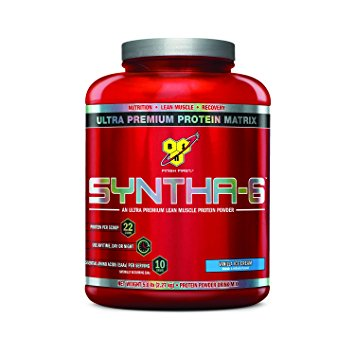 BSN SYNTHA-6 5.04 lbs (2288 g) Vanilla Ice Cream, 5.04lbs