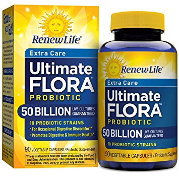 Renew Life Ultimate Flora Extra Care 50 Billion (90 caps), 90 Caps