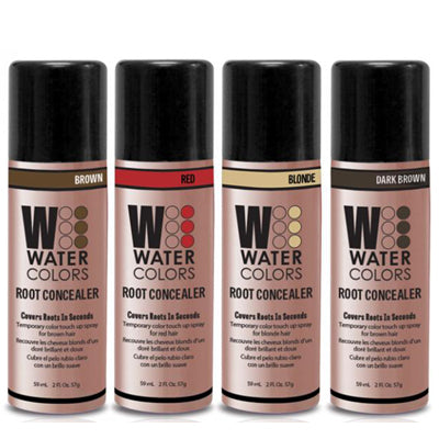Tressa Watercolors Root Concealer Color Spray 2 Ounce - Choose Your Color