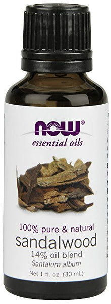 Now Foods, SANDALWOOD OIL 14% BLEND 1 OZ, 1-Ounce