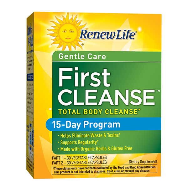 Renew Life First Cleanse (2-part kit), 2 Piece Kit