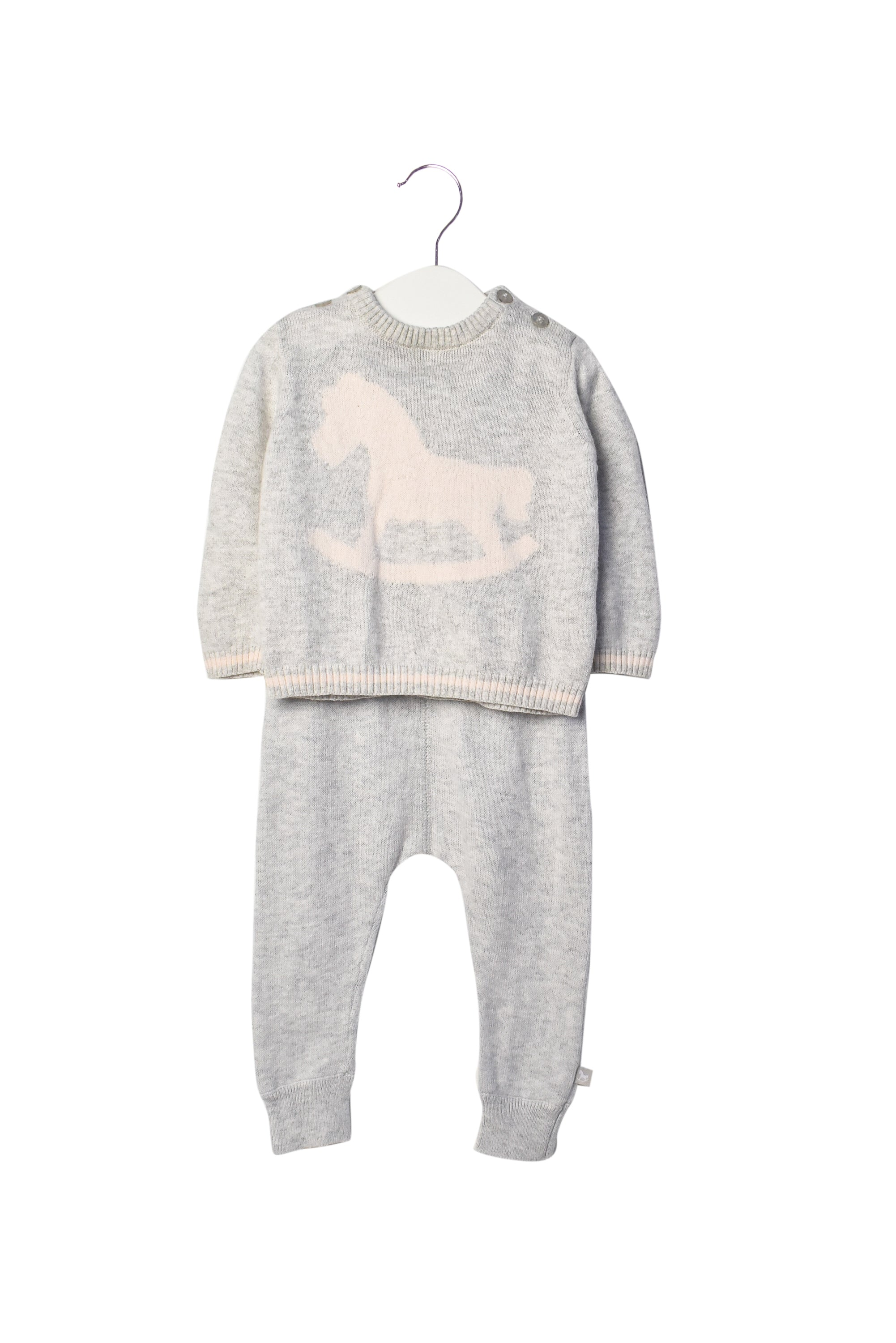 10006824 The Little Tailor Baby~Sweater and Pants 3-6M at Retykle