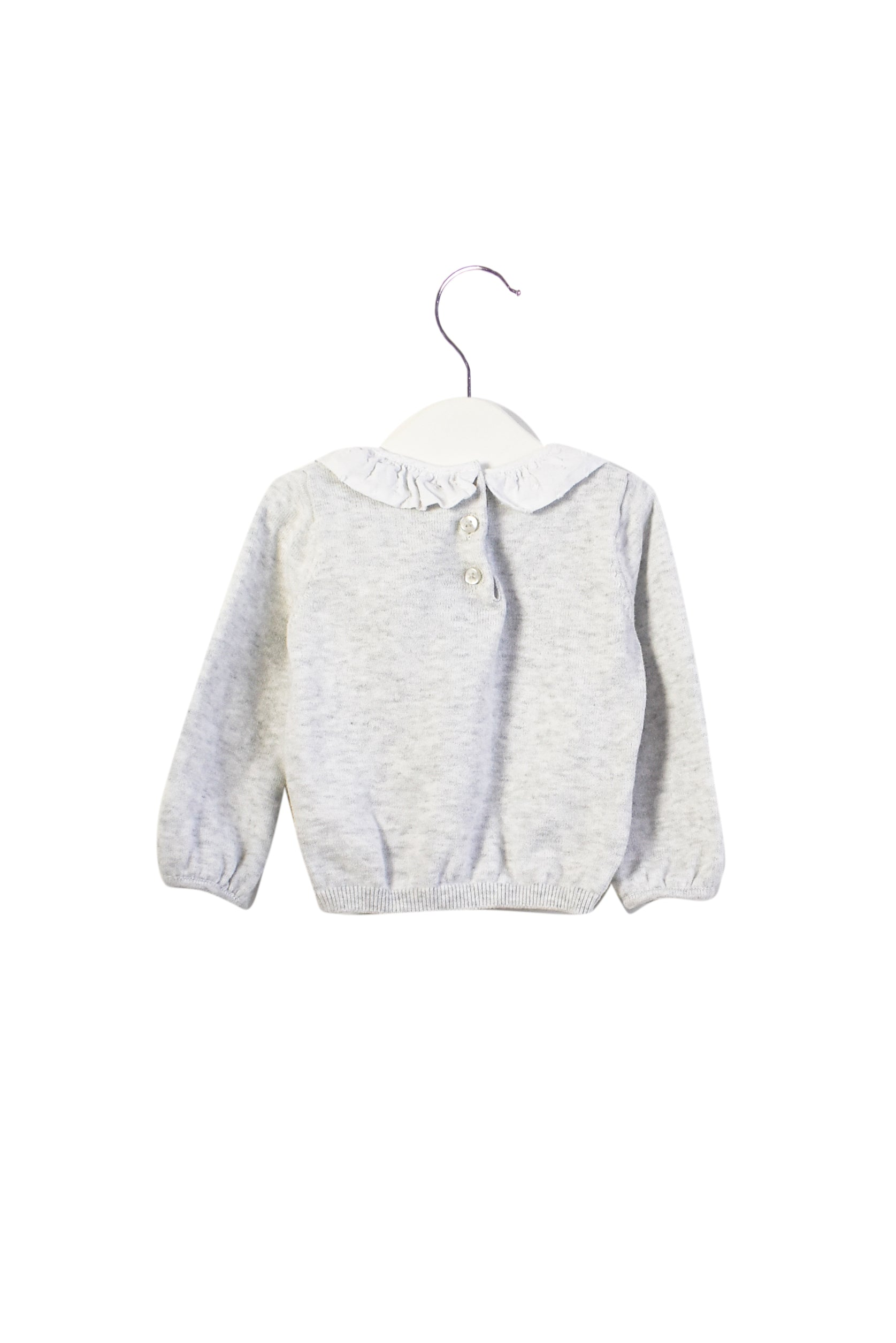 10013342 The Little White Company Baby ~ Sweater 3-6M at Retykle
