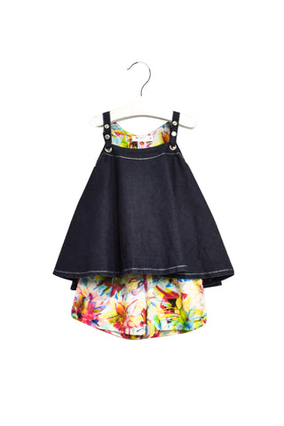 10020053 Junior Gaultier Baby~Dress and Shorts Set 12M at Retykle