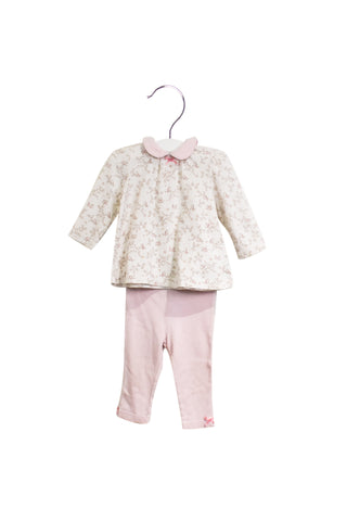 10025800 Little Me Baby~Top and Leggings Set 9M at Retykle