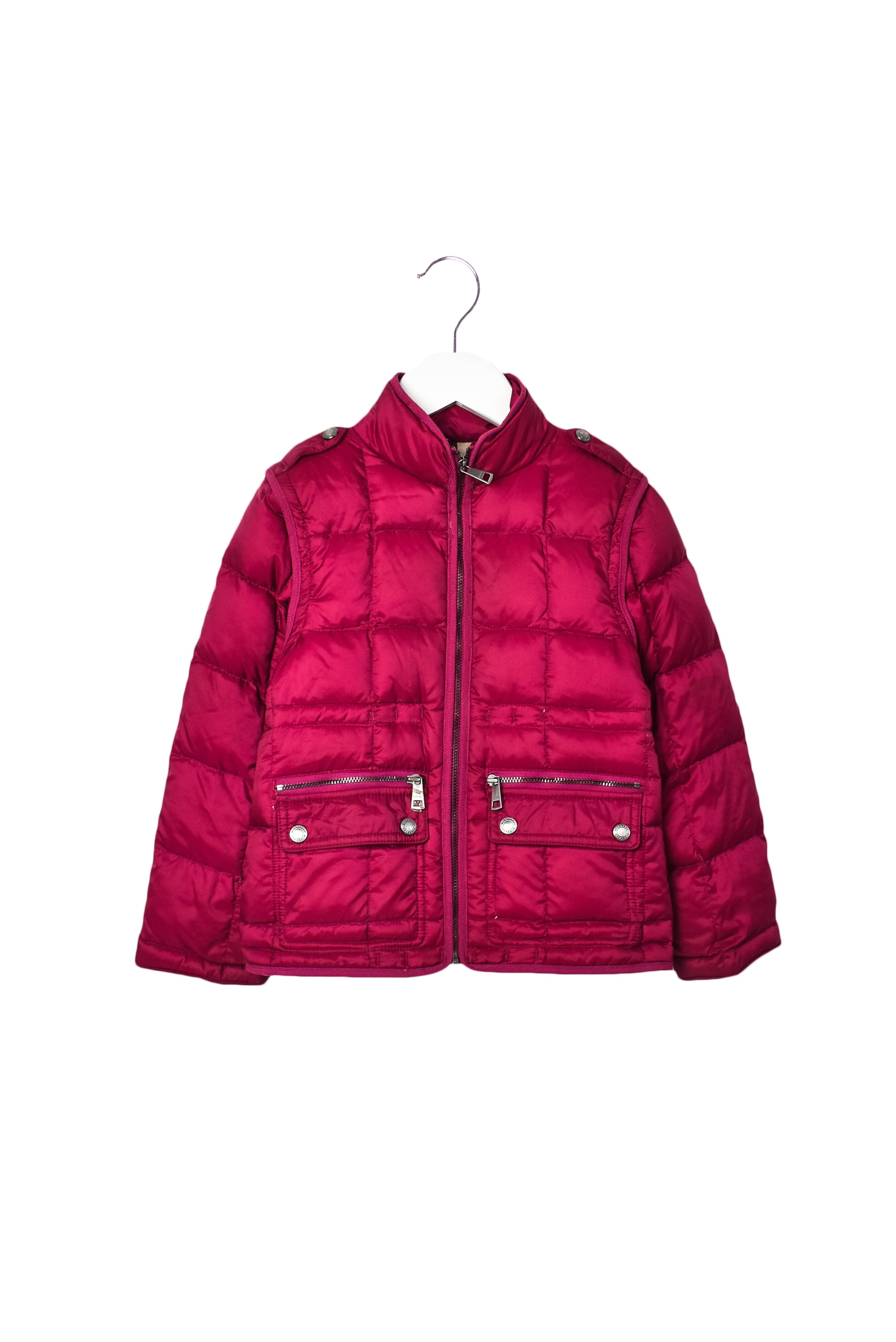 10007779 Burberry Kids~ Puffer Jacket/ Vest 6T at Retykle