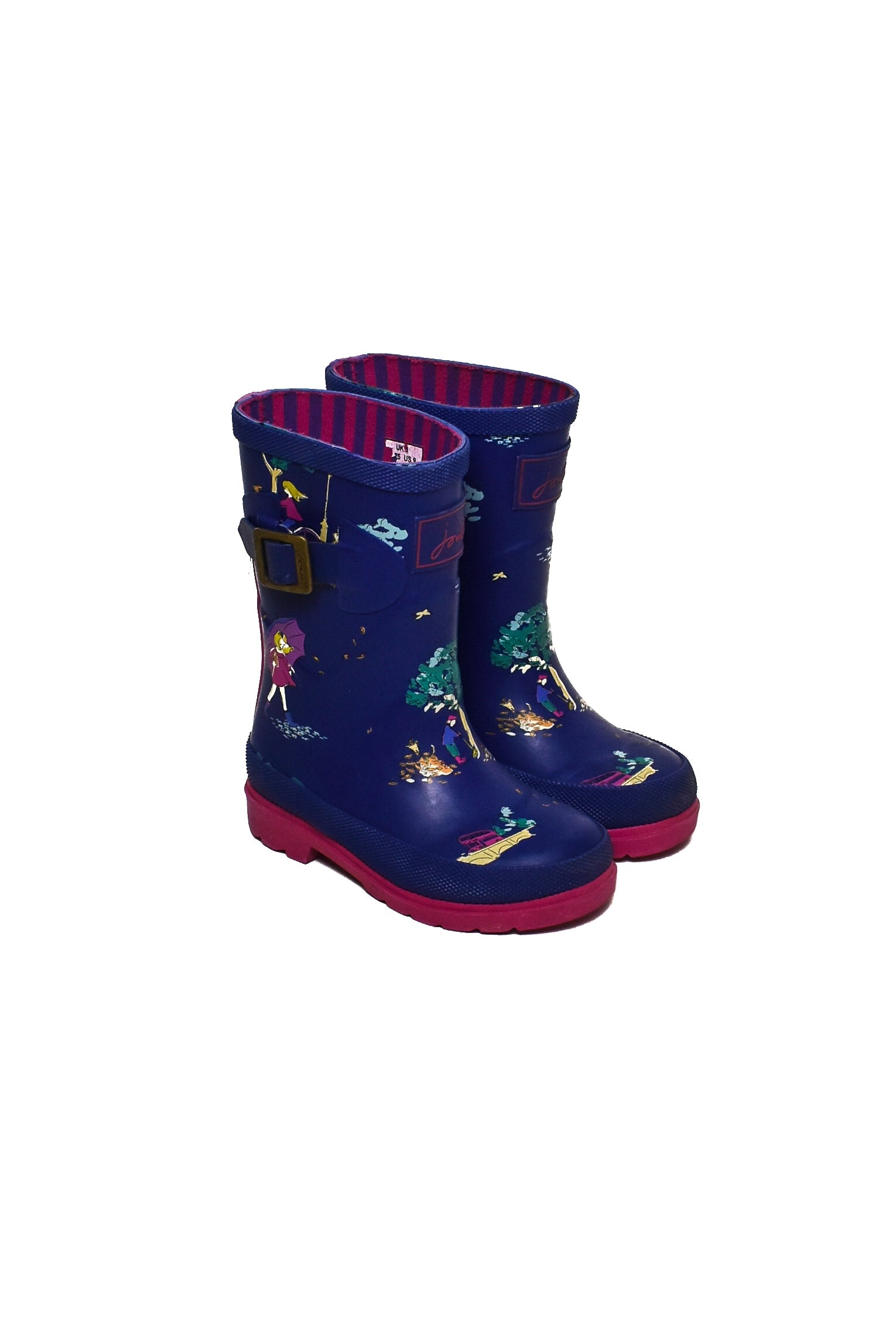 10007875 Joules Kids~Rain Boots 3T (EU 25) at Retykle