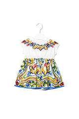 10008066 Dolce & Gabbana Baby ~ Dress And Bloomer Set 3-6M at Retykle