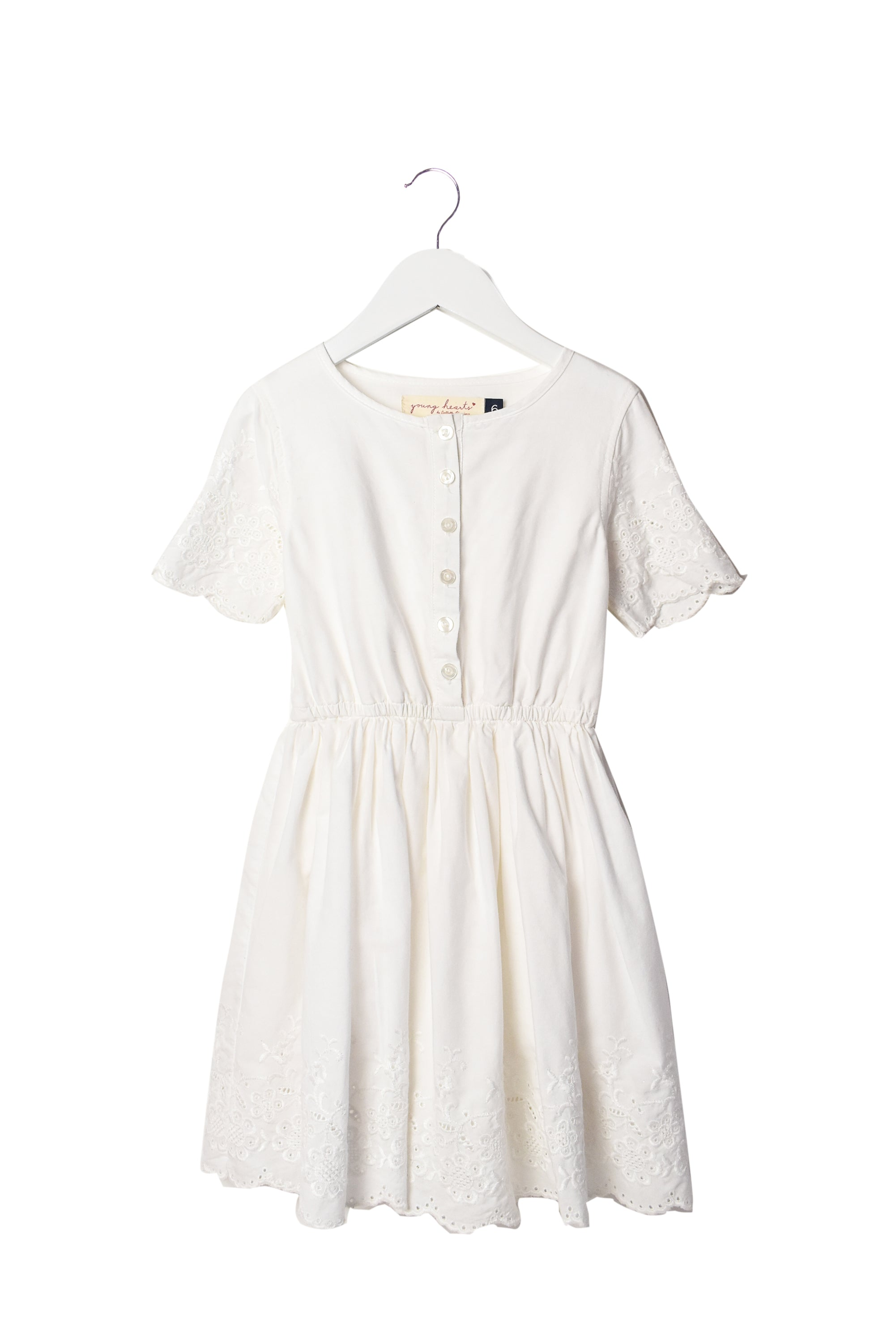 10008178 Young Hearts by Collette Dinnigan Kids~Dress 6T at Retykle