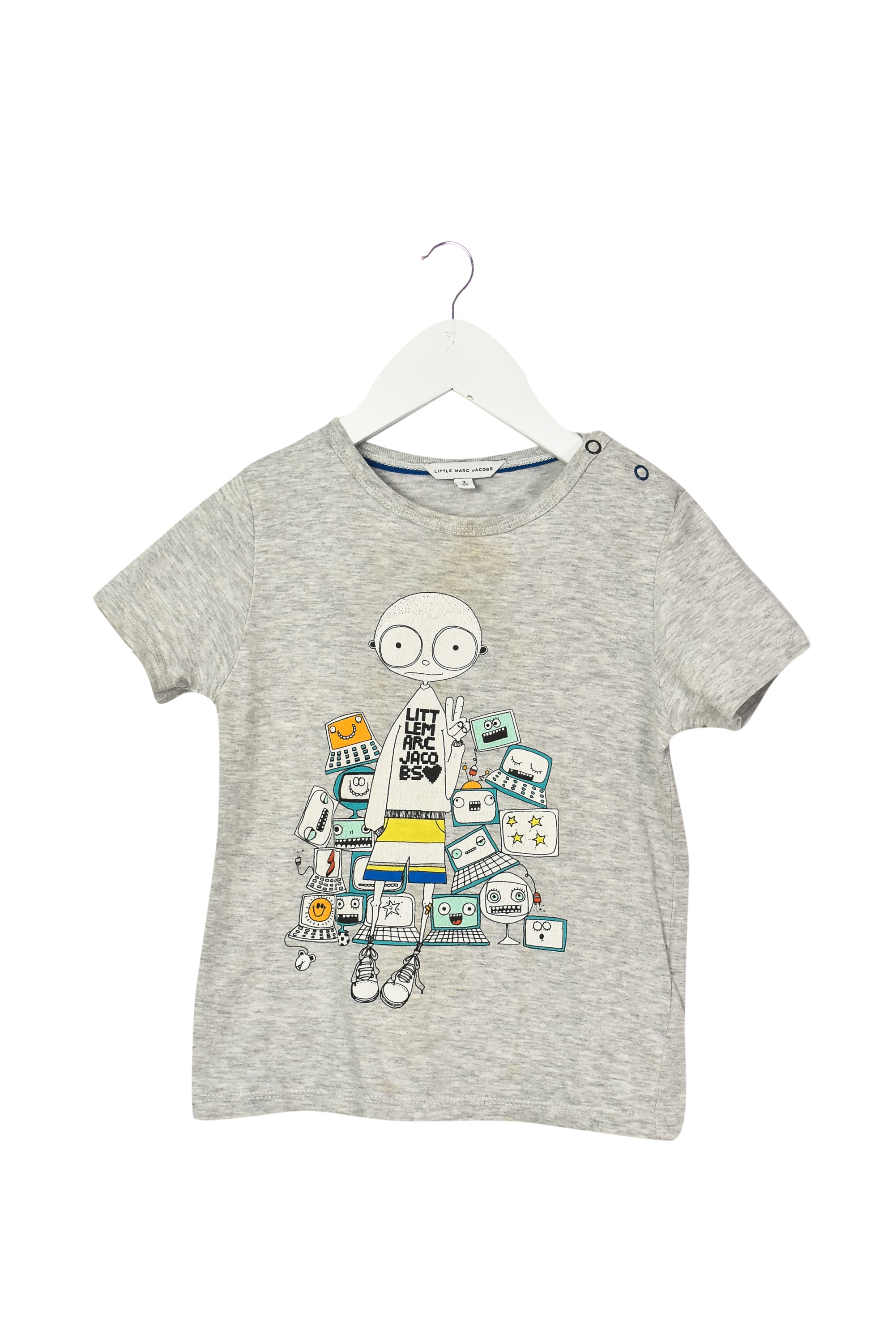 10037887 Little Marc Jacobs Kids~T-Shirt 3T at Retykle