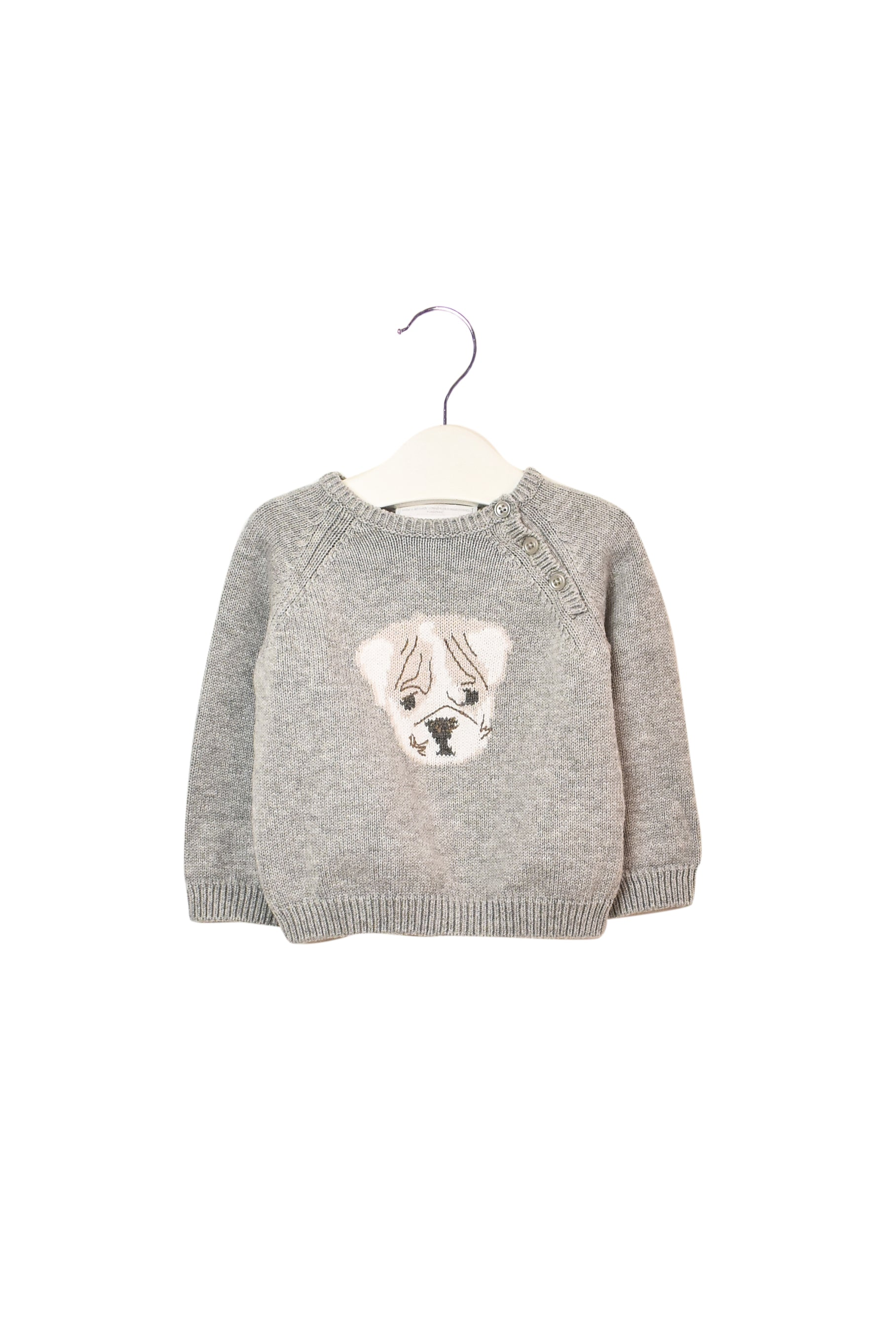 10008280 The Little White Company Baby ~ Sweater 3-6M at Retykle