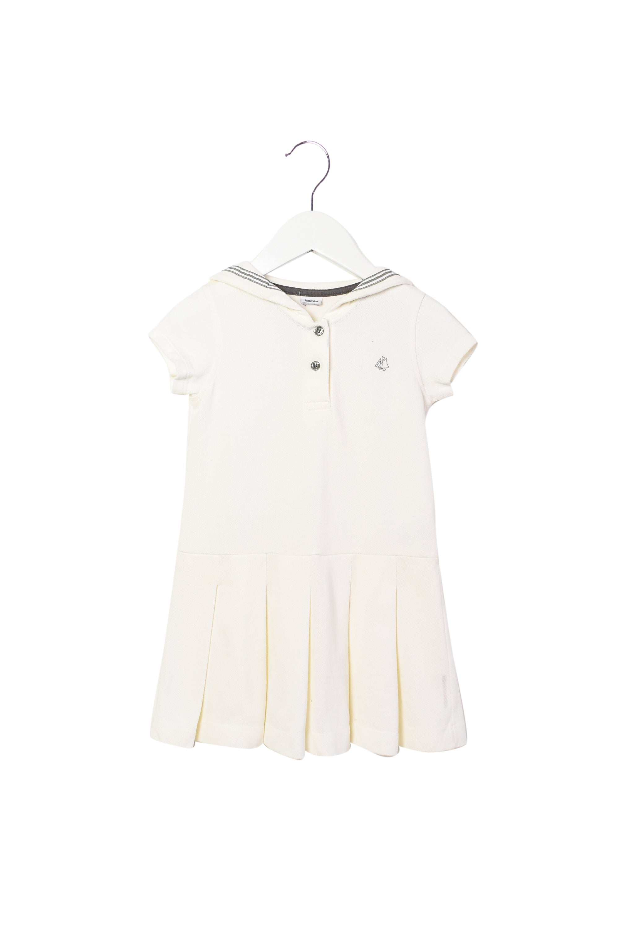 10008450 Petit Bateau Kids~Dress 3T at Retykle