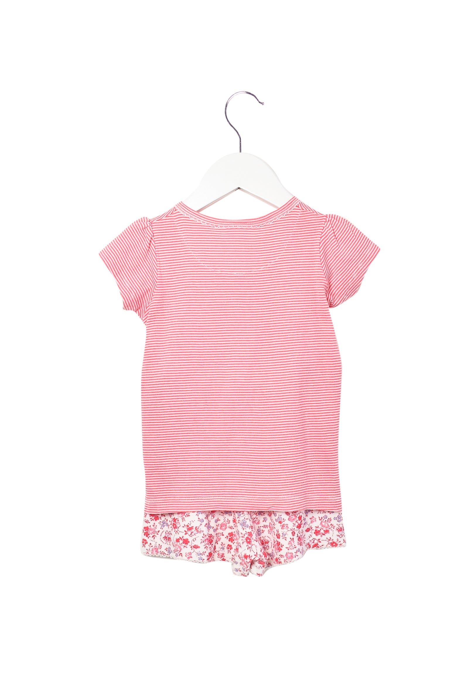 10008453 Petit Bateau Kids~Top and Shorts Set 3T at Retykle
