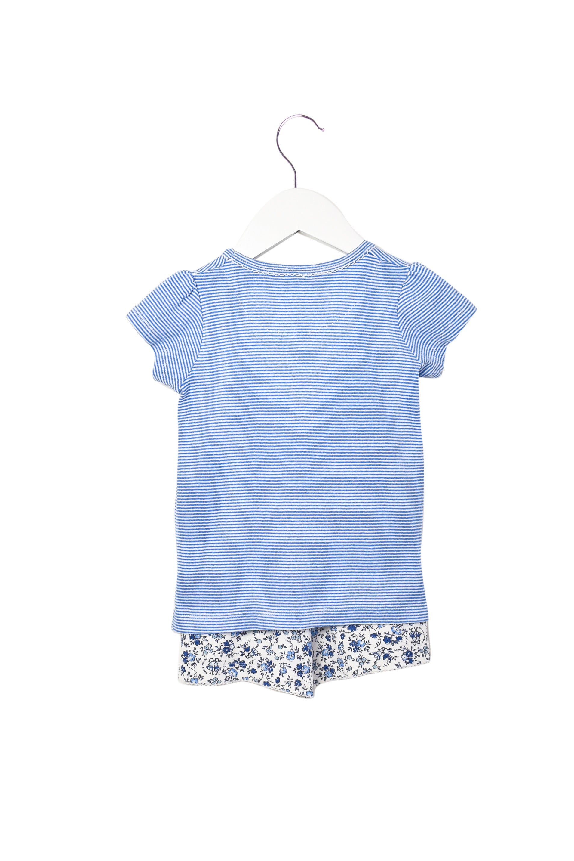10008454 Petit Bateau Kids~Top and Shorts Set 3T at Retykle