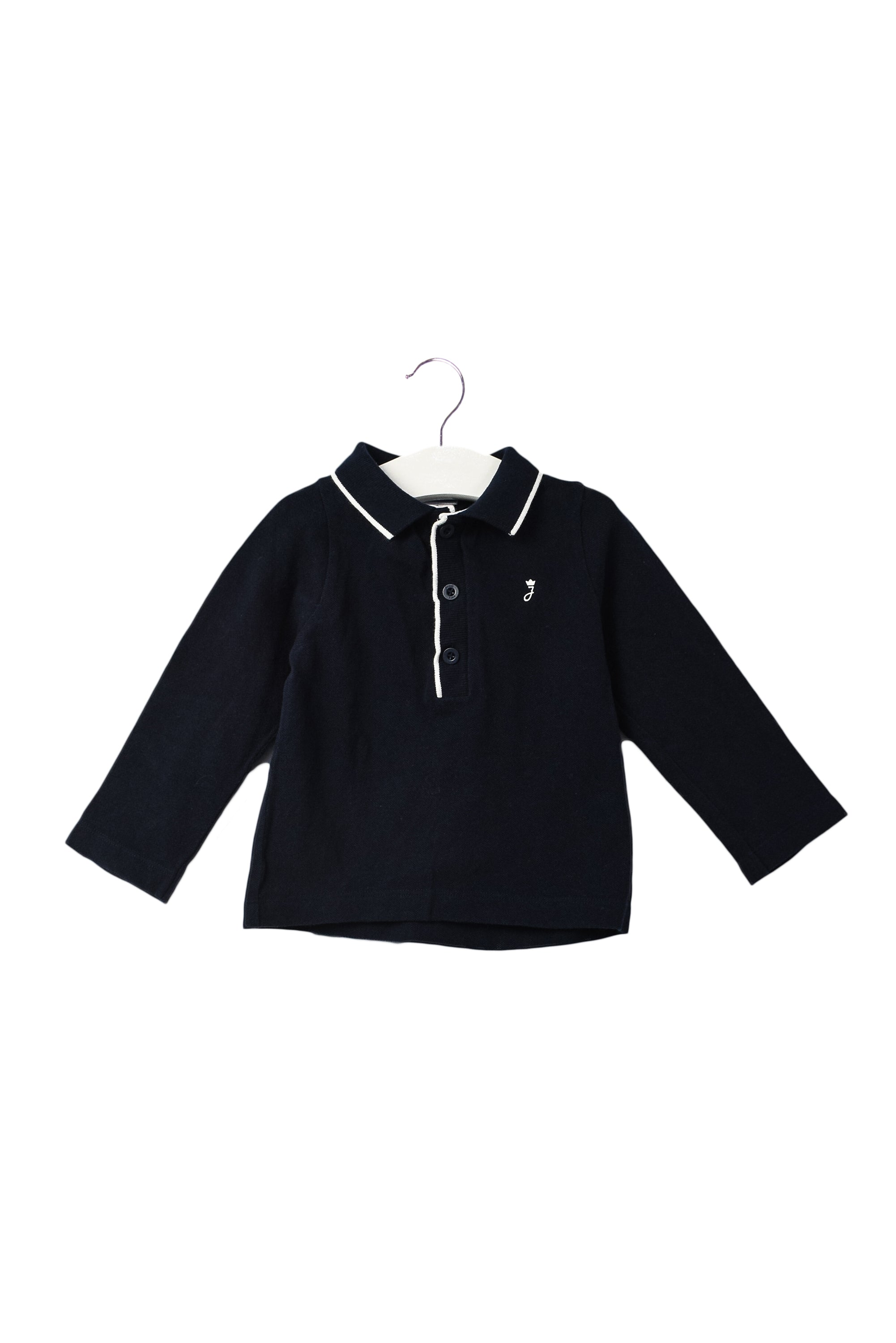 10044243 Jacadi Baby~Long Sleeve Polo 18M at Retykle