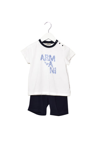 10011710 Armani Kids ~ T-Shirt and Shorts 24M at Retykle