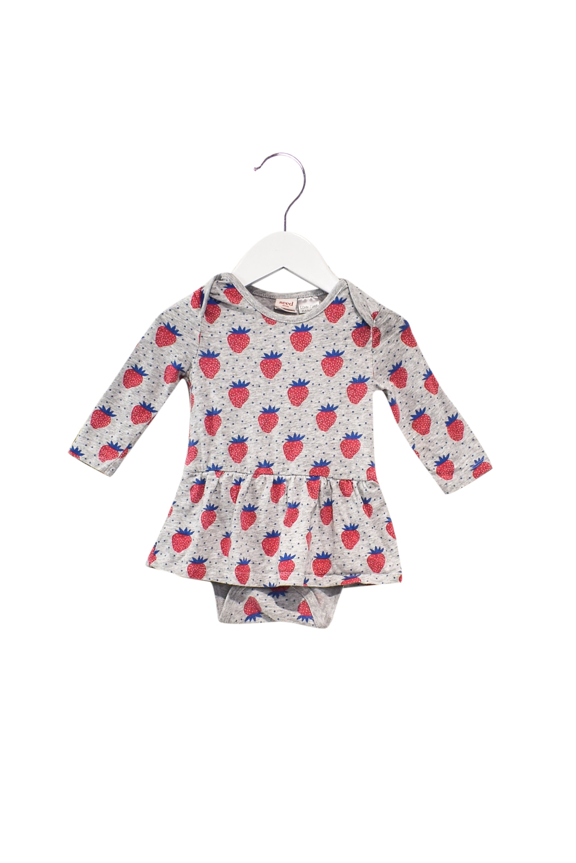 10028349 Seed Baby~Romper Dress 6-12M at Retykle