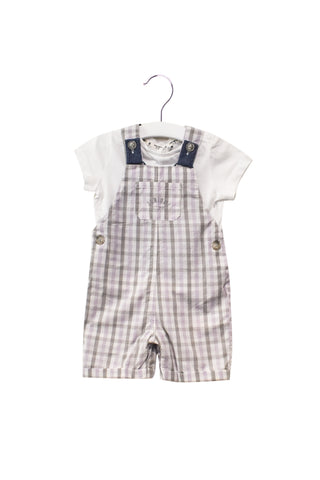 10026995 J by Jasper Conran Baby~T-Shirt and Overall Set 6-9M at Retykle