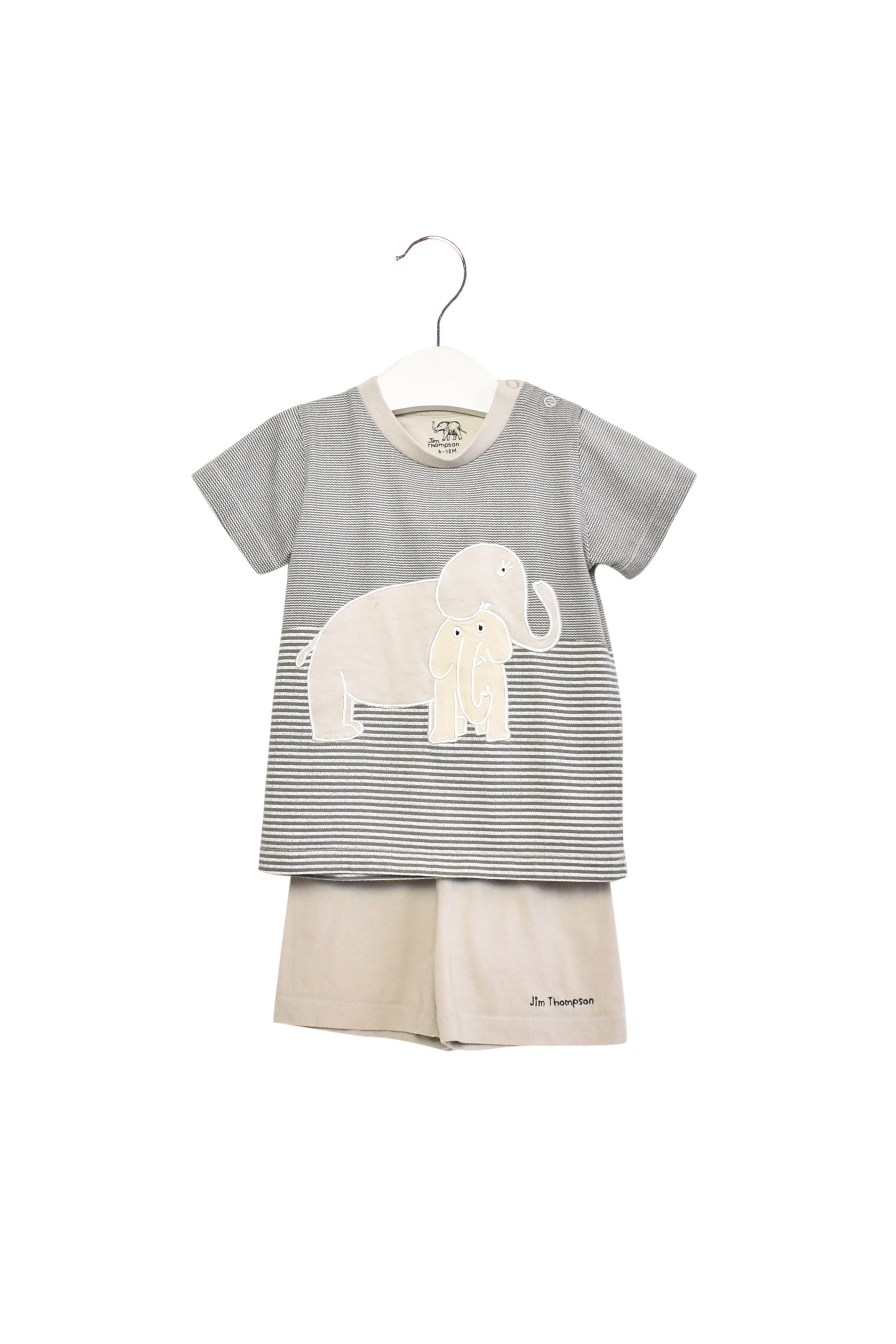 10011866 Jim Thompson Baby~T-Shirt and Shorts Set 6-12M at Retykle